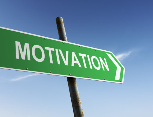 Lost your motivation?  Try looking in the last place you left it!